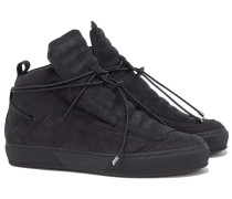 ULISSE BLACK NABUK Sneakers in Schwarz