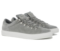 MAROSTICA LOW Wildleder Sneakers in Hellgrau