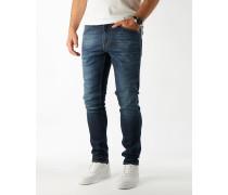 EVOLVE Slim-Fit Jeans in Denimblue