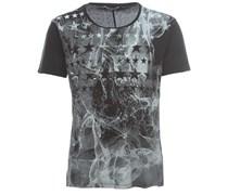 SMOKING STAR Herren T-Shirt Schwarz