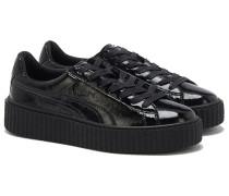 CREEPER Sneakers in Lackleder Schwarz