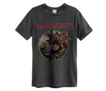 IRON MAIDEN TROOPER T-Shirt Grau