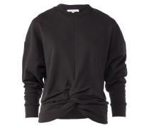 MUKA Sweatshirt mit Knoten-Design in Anthrazit