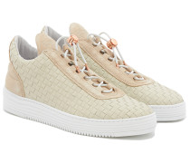 TWIST Low Top Sneakers in Beige