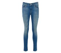 LOOKER ANKLE FRAY Skinny Jeans in Blau