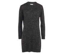 Samsøe Samsøe Feinstrick-Kleid in Grau meliert