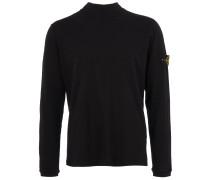 cleanes Sweatshirt in Schwarz