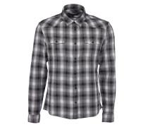 BENT Flanellhemd in Schwarz-Weiß