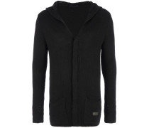 Strick-Cardigan in Schwarz