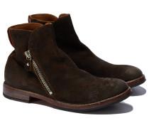 54604-N3 ALIEN SENAPE Stiefel in Braun-Grün