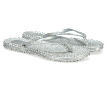 CHEERFUL Flip Flops Silber