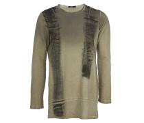 TWINS Sweatshirt mit Print in Vintage-Grau