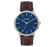 PORTER LEATHER 40MM Armbanduhr in Braun