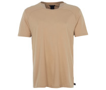 long T-Shirt in Camel