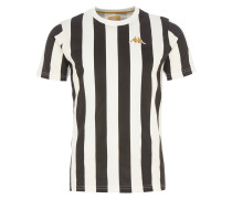 Gestreifter T-Shirt Schwarz-Weiß