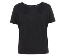SAMY weites Feinstrick-Shirt in Grau