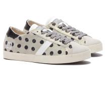 DATE HILL LOW FLOCK POIS Sneakers in Grau
