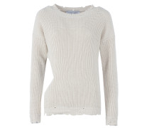 EBY Strickpullover mit Cut-out in Beige