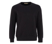 MURRY Sweater in Schwarz meliert