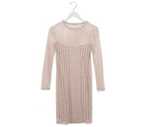 CIRCULAR HOLE Dress in Light Pink