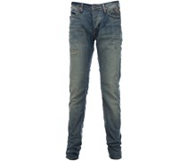 Blue de Gênes REPI POINTER Slim-Jeans Distreched Blau
