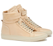 AMALFI HIGH 10 CRUST LEATHER Sneakers in Nude