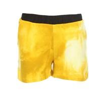 BATIK Jersey Shorts Gelb