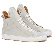 ZEUS High Top Sneakers in Hellgrau