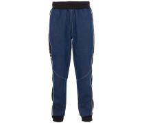 Denim Jogginghose Blau/Schwarz