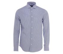 STEEL 2 Slim Fit Hemd in Blau-Weiß gestreift