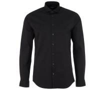 STEEL 1 Slim-Fit Hemd in Schwarz
