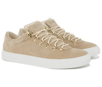 MAROSTICA LOW Wildleder Sneakers in Nude