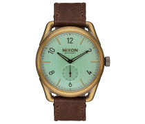 C39 LEATHER 39mm Armbanduhr Braun