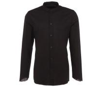 RAFAEL Slim-Fit Hemd in Schwarz