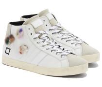 DATE HILL HIGH POP FUR FLOWERS Sneakers in Weiß