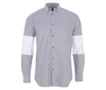 Cutout 7FT Herrenhemd in Grau meliert