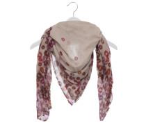 Halstuch aus Schurwolle in Rosa