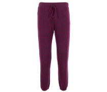 GALENIA Casual Pants in Purpur