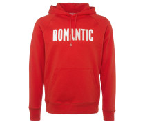FRED Hoodie in Rot