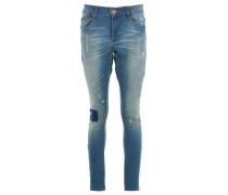 AMERICANO DESPERADOS Skinny Jeans in Used-Optik