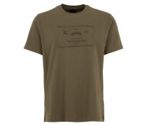 COMPLIMENTS T-Shirt aus Organic-Cotton in Olive