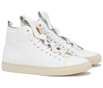 SORRENTO High Top Sneakers in Weiß
