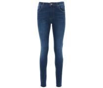 PENELOPE 392 Slim Fit Jeans in Denim-Blue