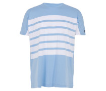 HIGHWAY EZBOY T-Shirt mit Streifen in Blau-Weiß