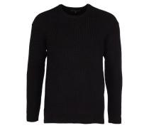 SIRO Pullover mit Taschen in Schwarz