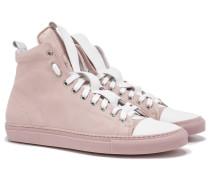 SORRENTO High Top Sneakers in Pink