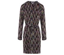 Tunika-Kleid mit Hippie-Muster Multicolor