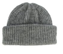 BANKY Mütze mit Umschlag Grau