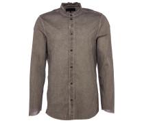 RAFAEL Slim-Fit Hemd in Vintage Grau