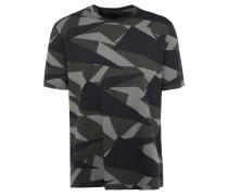 BIGGIE T-Shirt mit Camouflage Print